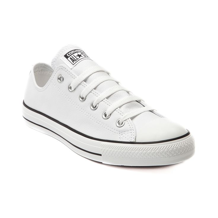 converse shoes all white. converse all star lo leather sneaker shoes white e