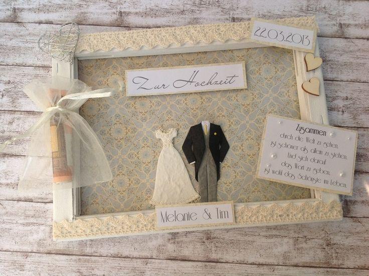 Geldgeschenke - Romantische Hochzeit - Geldgeschenk mal anders - ein Designerstück von purFuerstlich bei DaWanda