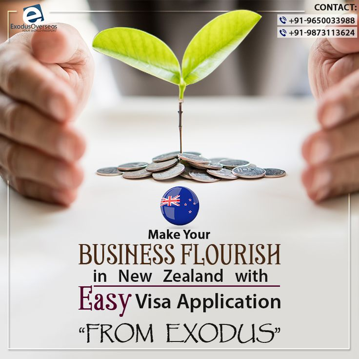 Want to purchase or establish business in New Zealand? Contact Exodus Overseas for Entrepreneur visa. Contact Mr. Pankaj Malhotra (Ex-Visa Officer) Ph: +91-9650033988. For any visa other than Student contact Ms. Rajni Garg (Licensed immigration advisor) at +91-9873113624. #ExodusOverseas #EntrepreneurVisa #Licensed #Immigration #Advisor #Expert #Consultant
