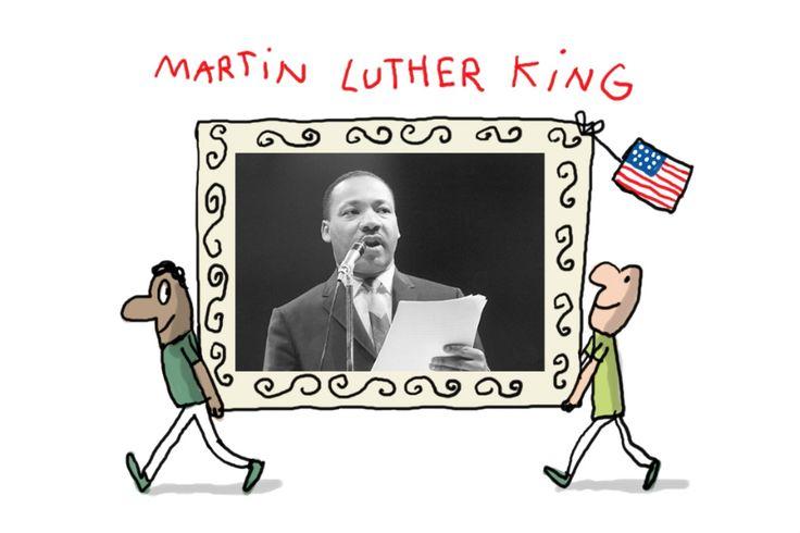 Le 15 janvier 1926, il y a 90 ans, naissait Martin Luther King. Ce responsable religieux chrétien a été le chef d'un grand mouvement non-violent en faveur des droits des Américains noirs aux Etats-Unis. Cette vidéo te présente un homme exceptionnel.