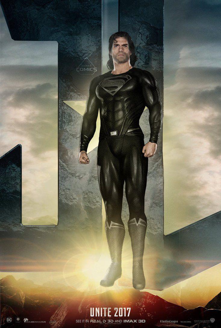 Justice League Superman - Black Suit by SavageComics