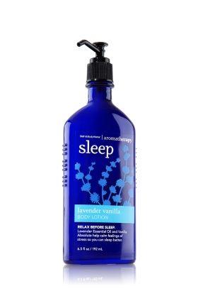 Sleep - Lavender Vanilla Body Lotion - Aromatherapy - Bath & Body Works