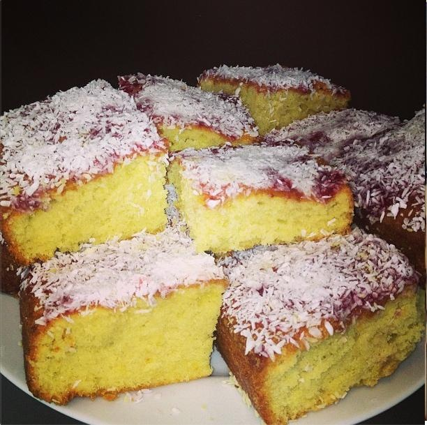 Coconut Cake- made with Dairygold Baking Block
