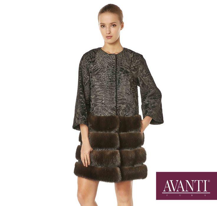 AVANTI FURS - MODEL: CECYLIA SWAKARA JACKET with Sable #avantifurs #fur #fashion #swakara #sable #sobol #luxury #musthave #мех #шуба #стиль #норка #зима #красота #мода #topfurexperts