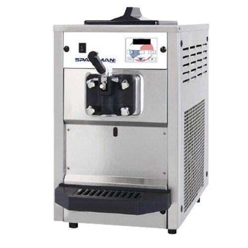 Spaceman 6220 Soft Serve Ice Cream Machine with 1 Hopper – 110V