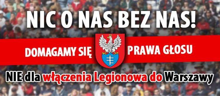 """Legionowo w niedzielę głosuje w sprawie """"wielkiej Warszawy"""" http://referendumlokalne.pl/legionowo-w-niedziele-glosuje-w-sprawie-wielkiej-warszawy/"""