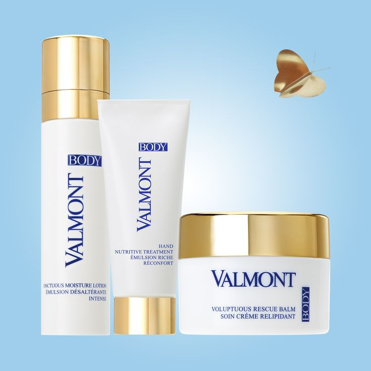 Soft & Smooth anti-aging body creams by Valmont