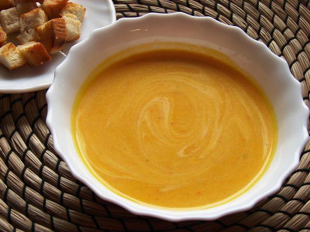 Zážitky  jedné  rodinky...: Dýňová polévka...