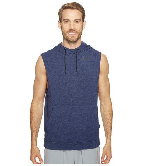 NIKE Fleece Pullover Sleeveless Training Hoodie. #nike #cloth #hoodies & sweatshirts