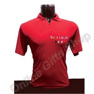 Corporate-T-Shirts -Red-Collar