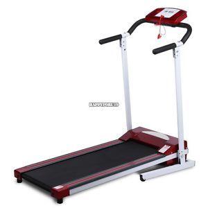Modern Red Mini Folding Electric Running Fitness Machine Treadmill Top US Seller
