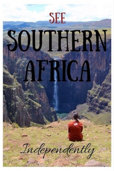 Independent Travel in Southern Africa : My Trip Overview