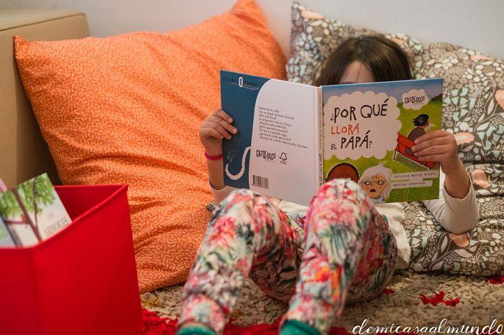 DIY: Cojines gigantes para el rincón de lectura