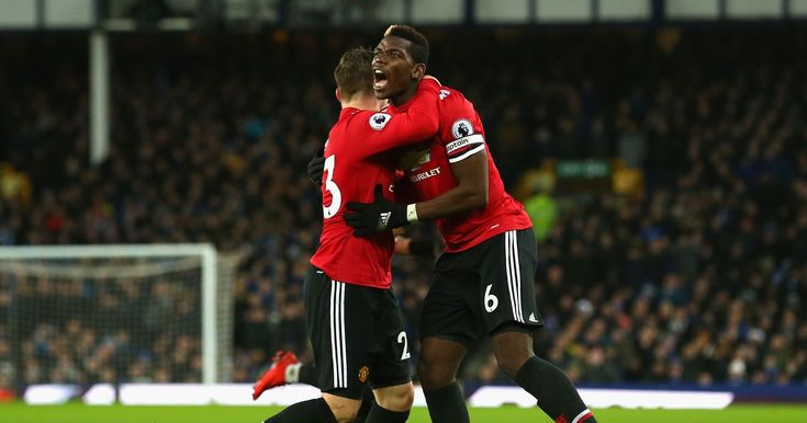 Man Utd players Anthony Martial and Paul Pogba were among those who impressed in the 2-0 win vs Everton.
