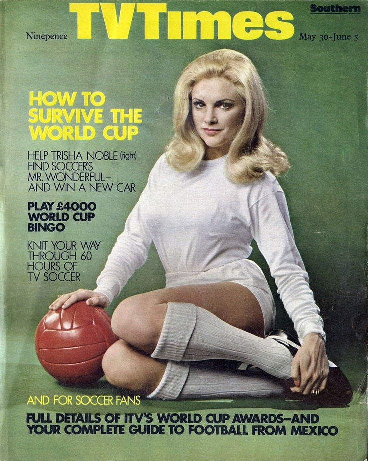 1970 World Cup TV Times cover