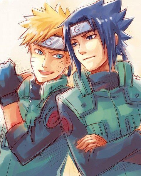 Naruto and sasuke what should of happened if only naruto epicness pinterest gifs - Naruto and sasuki ...