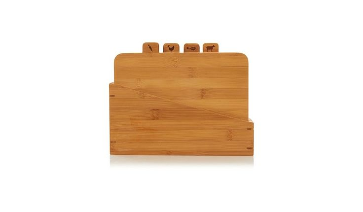 Buy George Home Set of 4 Bamboo Chopping Boards in Stand from our Utensils & Gadgets range today from George at ASDA.