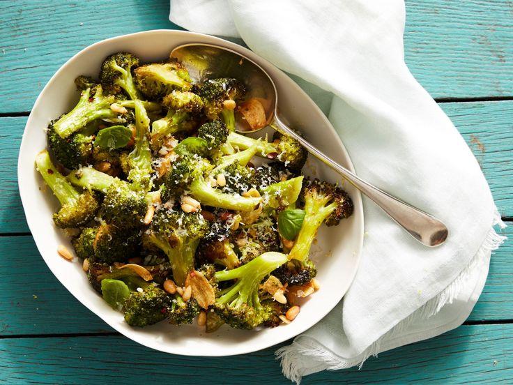 Parmesan-Roasted Broccoli recipe from Ina Garten via Food Network