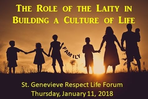 St. Genevieve Parish in Flourtown, Penna. to Hold Respect Life Forum on January 11, 2018