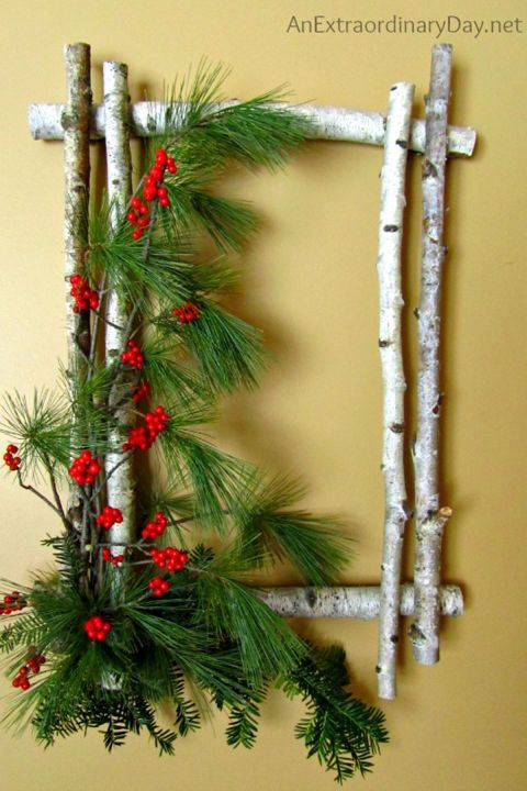 Deck your halls with these ingenious embellishments made from everyday supplies.