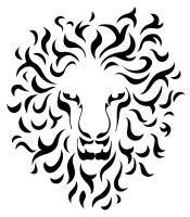 Tribal Lion Hi-res version