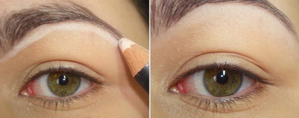 .: Dreamy Eye, White Eyeliner, Wear, Neutral Makeup 01, Maquillaje Sirena Chic, Eyes, Mermaids Dreamy