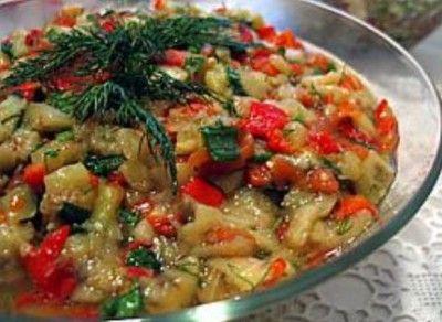 Салат из запеченных овощей : Салаты