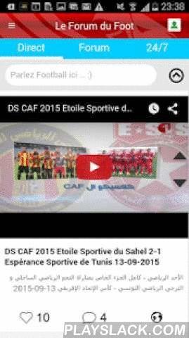 Tunisie Ligue1  Android App - playslack.com ,  Tunisie Ligue1 est le premier réseau social dédié au championnat tunisien de football (Ligue1 Pro) . Elle offre aux fans du foot la possibilité de connaître le score des matchs en direct ,d'écouter les meilleurs radios tunisiennes et de discuter avec les autres utilisateurs connectés tout en suivant l'actualité des équipes, des joueurs et de la sélection nationale tunisienne (les aigles de Carthage) en temps réel.L'application est divisée en 6…