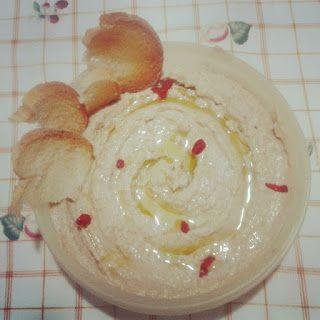 Elle danse avec le Chocolat: Hummus con tahina, tutto fatto in casa