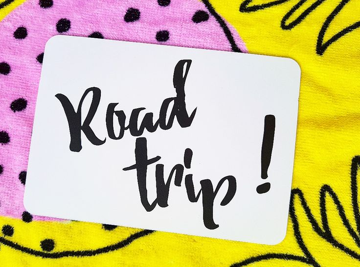 Road trip!  Milestones for your 20s!  Life is a journey... share your ride! First times!