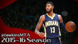 Paul George - PG13 - Indiana Pacers - Washington Wizards