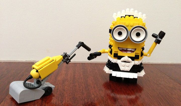 A Lego Minion Maid Named Phil, Plus More Multiplying…
