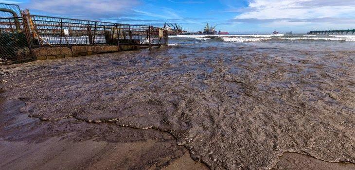 ECOLOGÍA EL DERRAME DE PETRÓLEO DE QUINTERO SE DEBIÓ A UNA FALLA HUMANA  Se perdieron 22.000 litros o 22 metros cúbicos de hidrocarburo