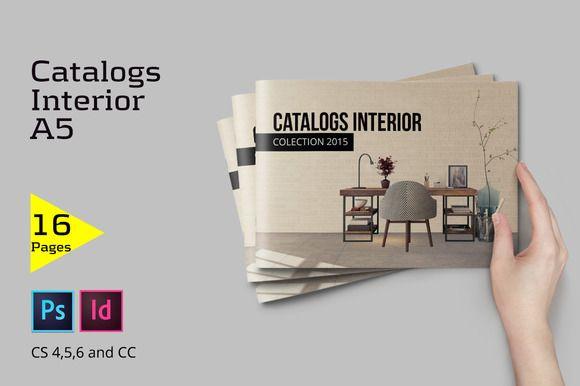 Catalogs Interior by Firtana on @creativemarket