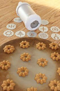 Spritzgebäck Thermomix kekse aus der gebäckpresse rezept gebäckpresse spritzgebäck und
