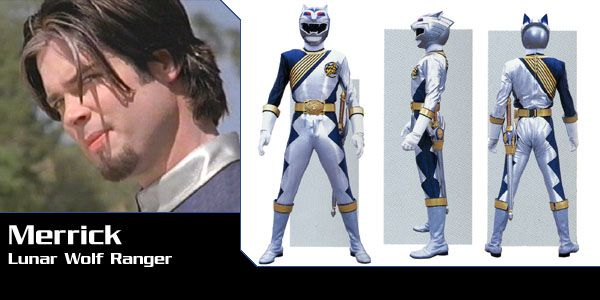 Merrick Baliton (Lunar Wolf Wild Force Ranger) - Power Rangers Wild Force | Power Rangers Central