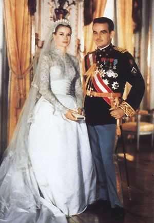 I was born on ther 24th birthday.  Two and a half years later she would marry the Prince of Monoco.