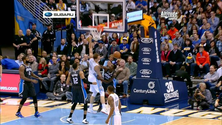 Timofey Mozgov Throws the Hammer Down on Andrew Nicholson