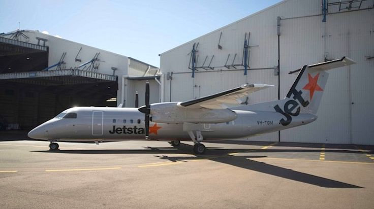 """Jetstar has repainted the first of five turboprops that will be used on regional New Zealand routes. On Wednesday, the airline released photos of Q300 VH-TQM, which has been repainted into Jetstar livery at the Flying Colours Aviation paintshop in Townsville. In addition to the new look, with the former QantasLink turboprop will also have an """"interior refresh to match the Jetstar onboard product"""", the airline said in a statement"""