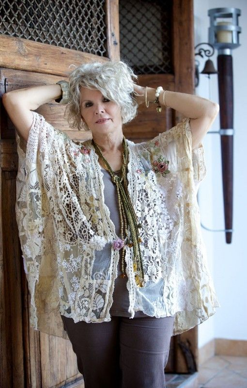 Provins - Crochet Heirloom Jacket. Simple easy to wear classic style, fits all body shapes. $160 #lace #crochet #jacket #fashion