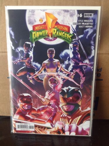 Mighty Morphin Power Rangers #6 Boom Studios Comics 1st Print NM Unread: $4.50 End Date: Friday Apr-6-2018 23:45:10 PDT Buy It Now for…