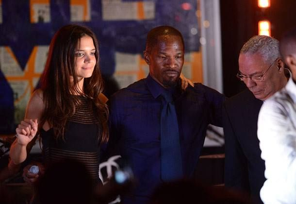 Katie Holmes-Jamie Foxx Post Break-up Update: Suri Glad To Be Tom Cruise Ex' Focus Again?