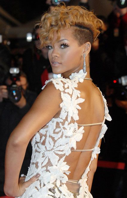 Mohawks were previously a symbol of punk style (resistance), but today artists such as Rihanna have appropriated them. Contemporary fashion, according to Sweetman, is just this: a combination of mainstream and countercultural fashions (295). What happens