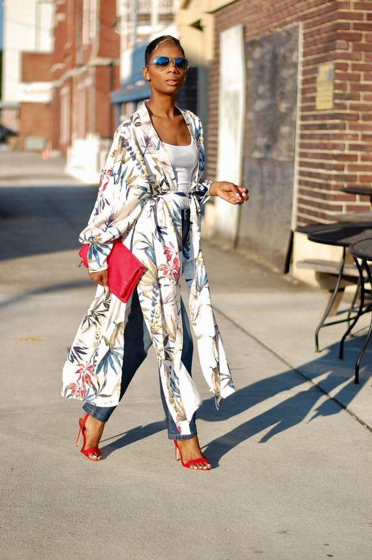 Kimono | Kimono fashion, Long kimono outfit, Fashion outfits