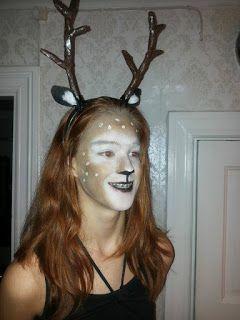 Saskia's knutsel blog: Deer Costume - Dead & Alive