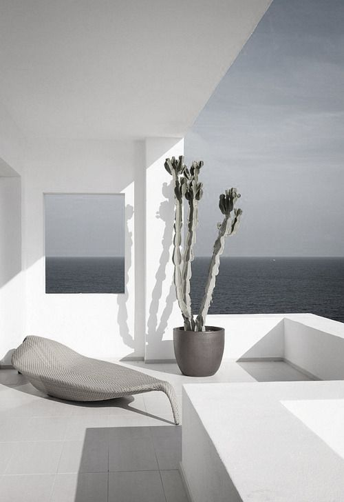 ... ♥ ...: Blissful Places, Gift, Favorite Places, Dedon Modernism, Exterior, Design Modern Architecture, White, Space, Garden Vibe