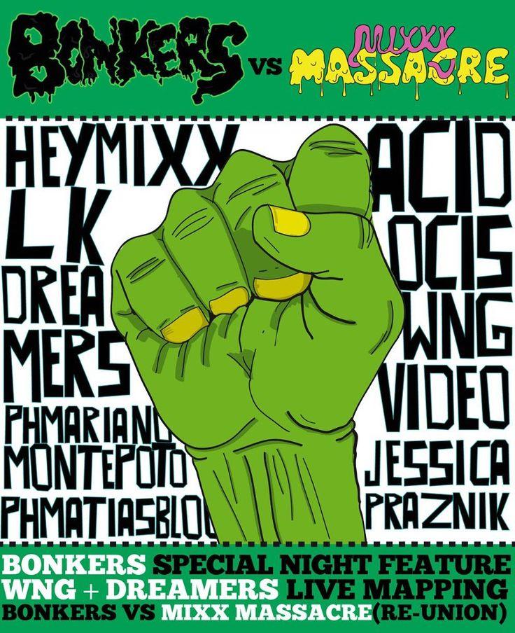 ACIDOCIS @ BNKRS VS MIX MASSACRE W/ HEYMIXX & LK