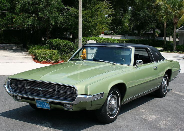 My 1st Car 1969 Ford Thunderbird Coupe Fords Pinterest