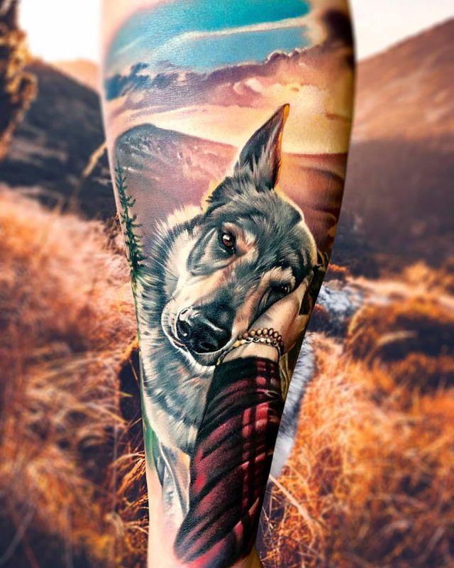 Cool Hundeliebe Tattoo Ideen Tattoos Dog Tattoos Und Tattoo Artists