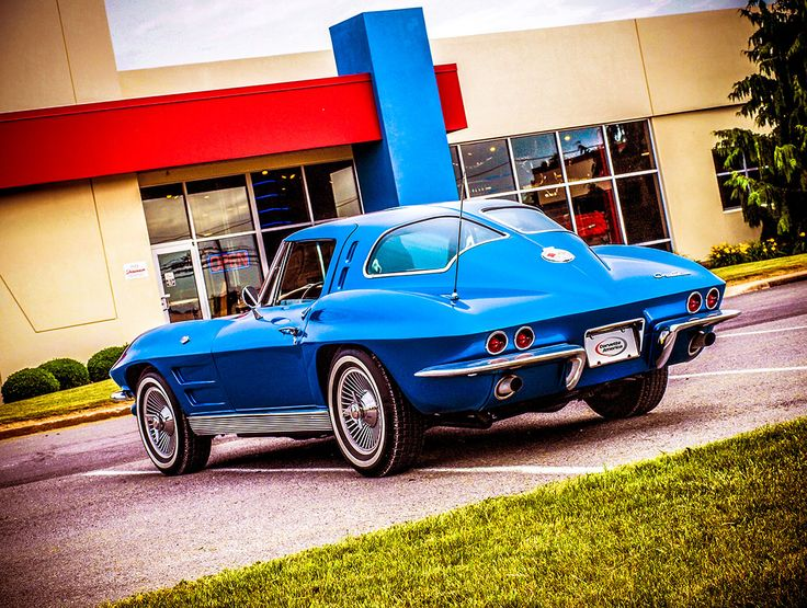 1963 Split Window Corvette at the Corvette America Showroom in Reedsville, PA.